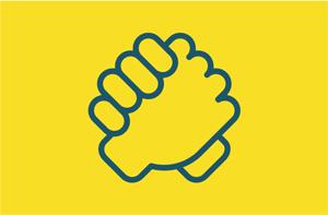 پرچم-ایران-زمینه-زرد